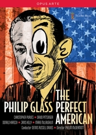 PERFECT AMERICAN NTSC/ALL REGIONS //  CHRISTOPHER PURVES PHILIP GLASS, DVDNL