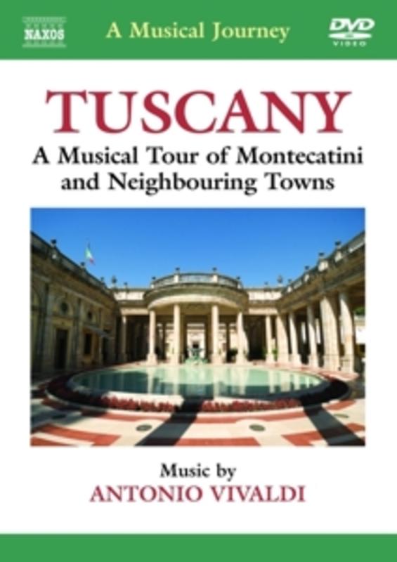 Various - A Musical Journey: Tuscany, (DVD) NTSC A. VIVALDI, DVD