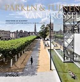 Parken en tuinen van Brussel parken & tuinen, Sejournet, Donatienne de, Hardcover