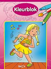 Kleurblok: Danseresjes Kleurblok: Danseresjes, Paperback