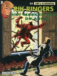 RIK RINGERS 54. MASKER VAN DE ANGST RIK RINGERS, TIBET, Paperback
