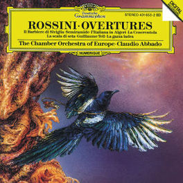 OVERTURES CHAMBER ORC. OF EUROPE ABBADO Audio CD, G. ROSSINI, CD