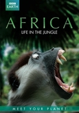 BBC earth - Africa life in the jungle, (DVD)