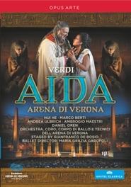 AIDA -3D- ORCH.DELL ARENA DI VERONA/DANIEL OREN // NTSC/ALL REG G. VERDI, DVD
