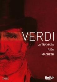TRAVIATA/AIDA/MACBETH VARIOUS G. VERDI, DVDNL