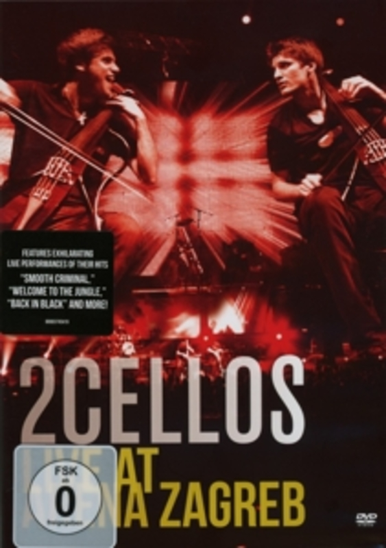 LIVE AT ARENA ZAGREB TWO CELLOS, DVDNL