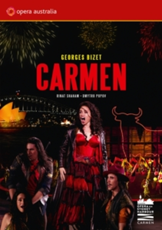 CARMEN SIDNEY 2013 // NTSC/ALL REGIONS G. BIZET, DVDNL