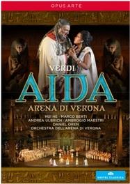 AIDA -3D- ORCH.DELL ARENA DI VERONA/DANIEL OREN G. VERDI, Blu-Ray