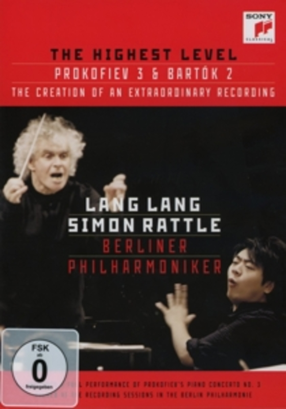 AT THE HIGHEST LEVEL DOCUMENTARY ON THE RECORDING & PROKOFIEV LANG LANG, DVD