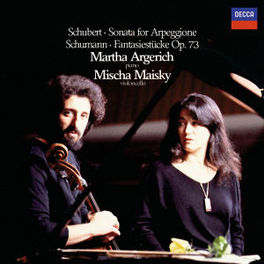 SONATE FOR ARPEGIONE ARGERICH/MAISKY Audio CD, SCHUBERT/SCHUMANN, CD