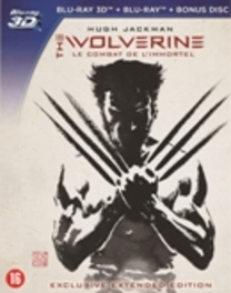 Wolverine (2D+3D), (Blu-Ray) BILINGUAL // W/ HUGH JACKMAN, TAO OKAMOTO MOVIE, Blu-Ray