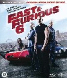 Fast & furious 6, (Blu-Ray) BILINGUAL/CAST: VIN DIESEL, DWAYNE JOHNSON, PAUL WALKER MOVIE, Blu-Ray