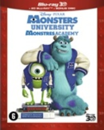 Monsters university 3D, (Blu-Ray) BILINGUAL - 3D+2D ANIMATION, BLURAY