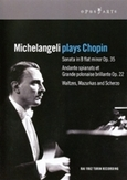 MICHELANGELI PLAYS CHOPIN, CHOPIN FT. ARTURO BENEDETTI MICHELANGELI, NTSC/ALL REG.