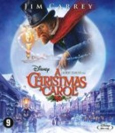 Christmas carol, (Blu-Ray) BILINGUAL /CAST: JIM CARREY MOVIE, Blu-Ray