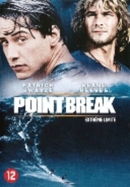 Point break, (DVD) PAL/REGION 2 // W/PATRICK SWAYZE, KEANU REEVES MOVIE, DVD