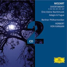 DIVERTIMENTI BERLINER PHIL./HERBERT VON KARAJAN Audio CD, W.A. MOZART, CD