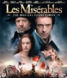 Les miserables, (Blu-Ray) BILINGUAL/CAST:HUGH JACKMAN/RUSSELL CROWE/ANNE HATHAWAY MOVIE, Blu-Ray