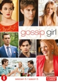 GOSSIP GIRL SEASON 5 PAL/REGION 2-BILINGUAL TV SERIES, DVD