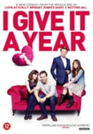 I give it a year, (DVD) CAST: ANNA FARIS, ROSE BYRNE, SIMON BAKER, RAFE SPALL MOVIE, DVDNL