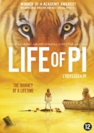 Life of Pi, (DVD) BILINGUAL / BY ANG LEE // W/ SURAJ SHARMA Martel, Yann, DVDNL