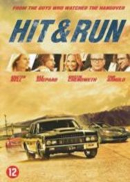 HIT AND RUN PAL/REGION 2 // W/ DAX SHEPARD, KRISTEN BELL MOVIE, DVDNL