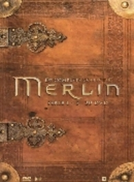 Adventures of Merlin - Seizoen 1-5, (DVD) CAST: JOHN HURT, COLIN MORGAN, BRADLEY JAMS TV SERIES, DVDNL