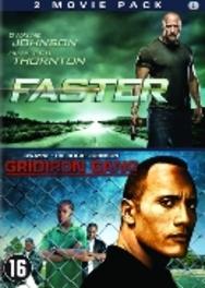 Faster/Gridiron gang, (DVD) PAL/REGION 2 // W/ DWAYNE JOHNSON MOVIE, DVDNL