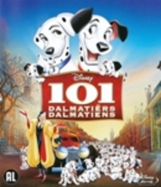 101 dalmatiers, (Blu-Ray) BILINGUAL Smith, Dodie, BLURAY