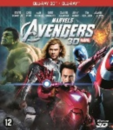 Avengers 3D, (Blu-Ray) BILINGUAL-COMBOPACK 2D+3D // W/ ROBERT DOWNEY JR. MOVIE, Blu-Ray