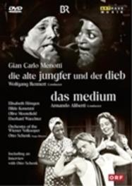 Gian Carlo Menotti - Die Alte Jungfer und der Dieb/ Das Medium