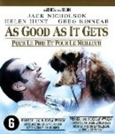 As good as it gets, (Blu-Ray) BILINGUAL /CAST: JACK NICHOLSON, HELEN HUNT MOVIE, Blu-Ray