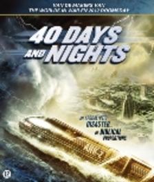 40 days and nights, (Blu-Ray) PAL/REGION 2 // W/ ALEX CARTER, MONICA KEENA MOVIE, Blu-Ray