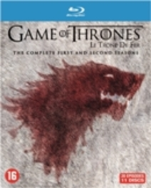 Game of thrones - Seizoen 1 & 2, (Blu-Ray) BILINGUAL // INCL.BONUS DISC TV SERIES, Blu-Ray