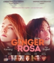Ginger & Rosa, (Blu-Ray) W/ ELLE FANNING, ALICE ENGLERT MOVIE, Blu-Ray