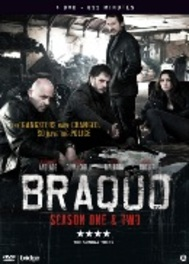 BRAQUO SERIE 1&2 PAL/REGION 2 // BY OLIVER MARCHAL TV SERIES, DVD