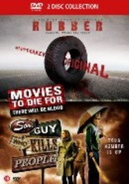 Rubber/Some guy who kills people, (DVD) .. KILLS PEOPLE - PAL/REGION 2 MOVIE, DVD
