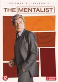 Mentalist - Seizoen 4, (DVD) BILINGUAL /CAST: SIMON BAKER, ROBIN TUNNEY TV SERIES, DVDNL