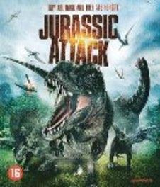 Jurassic attack, (Blu-Ray) W/ NATASCHA BERG, BRYAN K. BROWN MOVIE, BLURAY