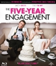 Five-year engagement, (Blu-Ray) BILINGUAL // W/JASON SEGEL, EMILY BLUNT MOVIE, Blu-Ray