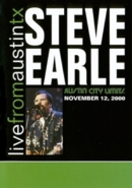 LIVE FROM AUSTIN TX.. NOVEMBER 12 2000/15 TRACKS DVD, STEVE EARLE, DVDNL