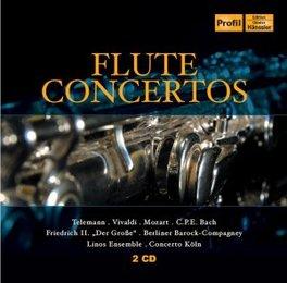 FLUTE CONCERTOS V/A, CD