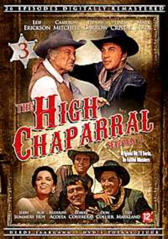 The High Chaparral - Seizoen 3 (7DVD)