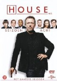 House M.D. - Seizoen 8, (DVD) CAST: HUGH LAURIE TV SERIES, DVD