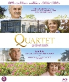Quartet, (Blu-Ray) BILINGUAL // W/  MAGGIE SMITH, BILLY CONNOLLY MOVIE, Blu-Ray
