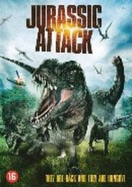 Jurassic attack, (DVD) PAL/REGION 2 // W/ NATASCHA BERG, BRYAN K. BROWN MOVIE, DVDNL