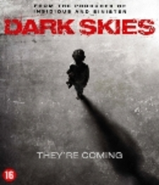 Dark skies, (Blu-Ray) ALL REGIONS // W/ KERI RUSSELL, JOSH HAMILTON MOVIE, Blu-Ray