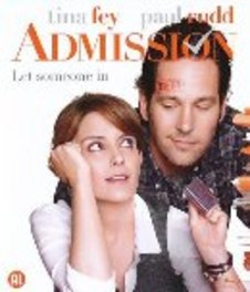 ADMISSION W/ TINA FEY, PAUL RUDD MOVIE, BLURAY
