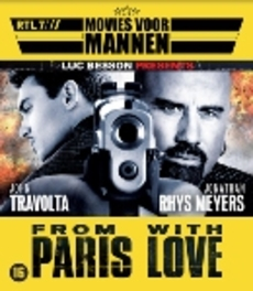 From Paris with love, (Blu-Ray) BY LUC BESSON // CAST: JOHN TRAVOLTA MOVIE, Blu-Ray