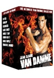 JEAN CLAUDE VAN DAMME BOX PAL/REGION 2 // 8 MOVIE BOX. MOVIE, DVD